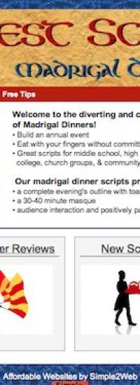 website Jest Scripts screen shot