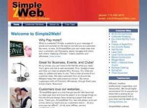 Simple2Web