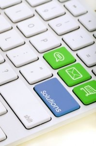 Solutions keyboard for web design