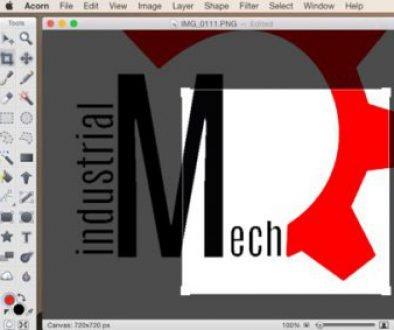Sample image editor screenshot