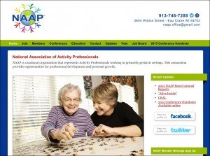 2. National Association of Activity Professionals