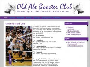 5. Old Abe Booster Club!