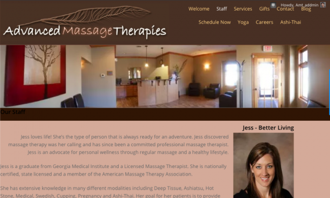 Advanced Massage Therapies